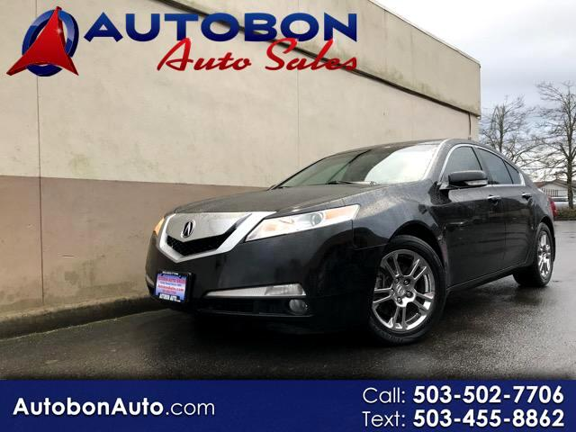 2009 Acura TL 6-Speed AT with Tech Package