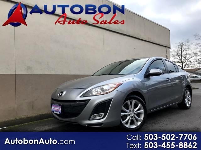 2010 Mazda MAZDA3 I Grand Touring MT 4-Door