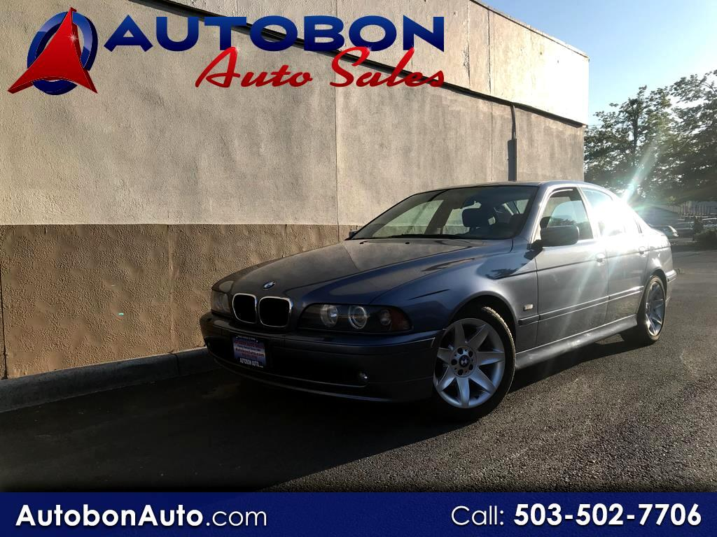 2002 BMW 5 Series 525i 4dr Sdn