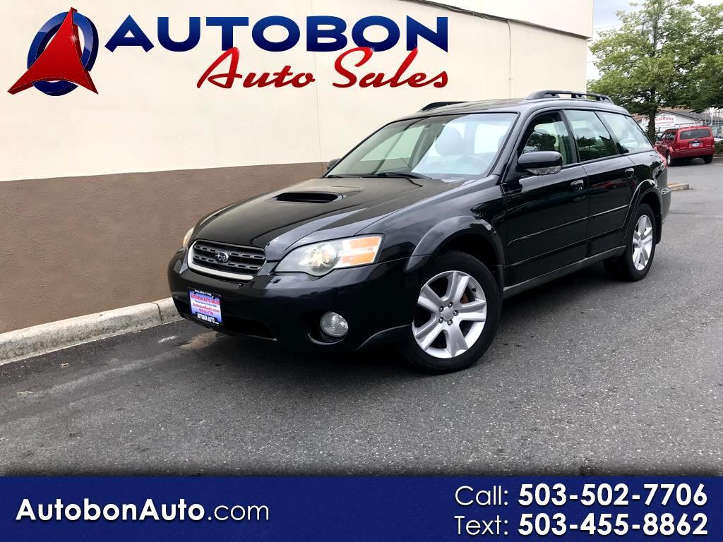 2005 Subaru Legacy Wagon (Natl) Outback 2.5 XT Ltd Auto Black Int