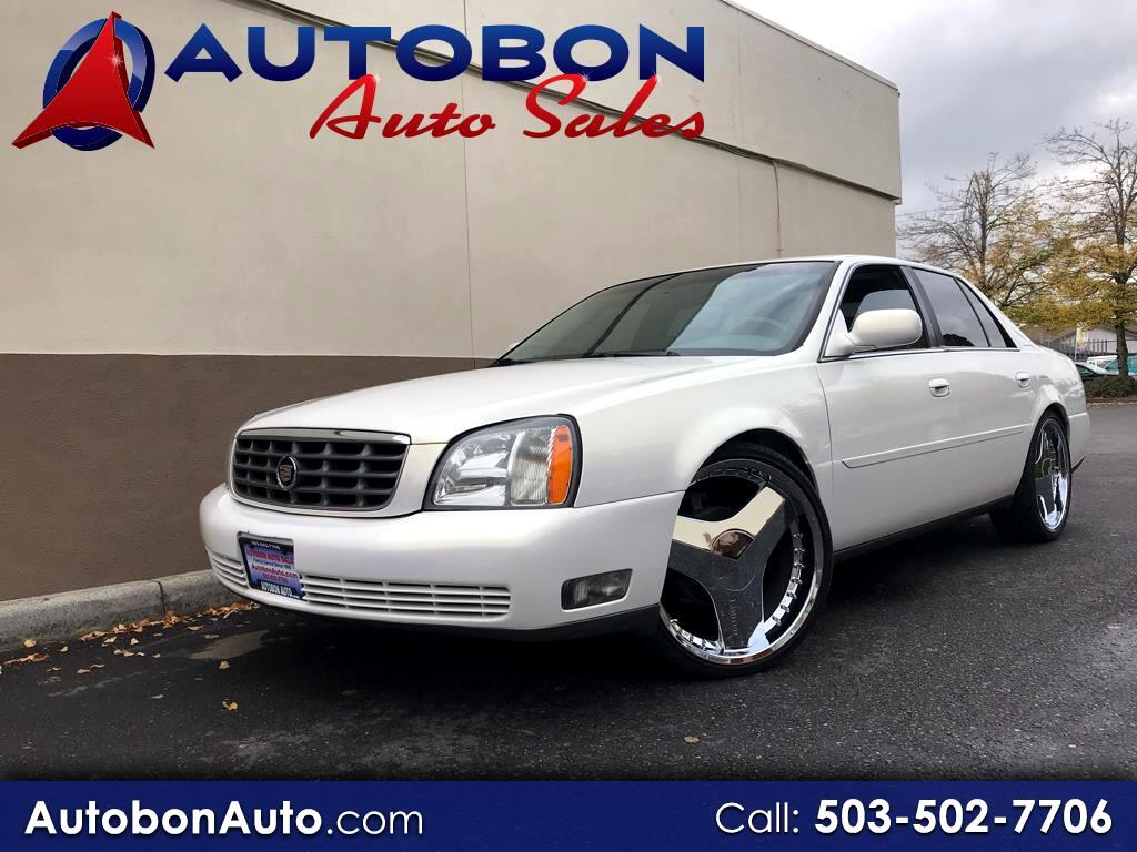 2005 Cadillac DeVille 4dr Sdn DHS