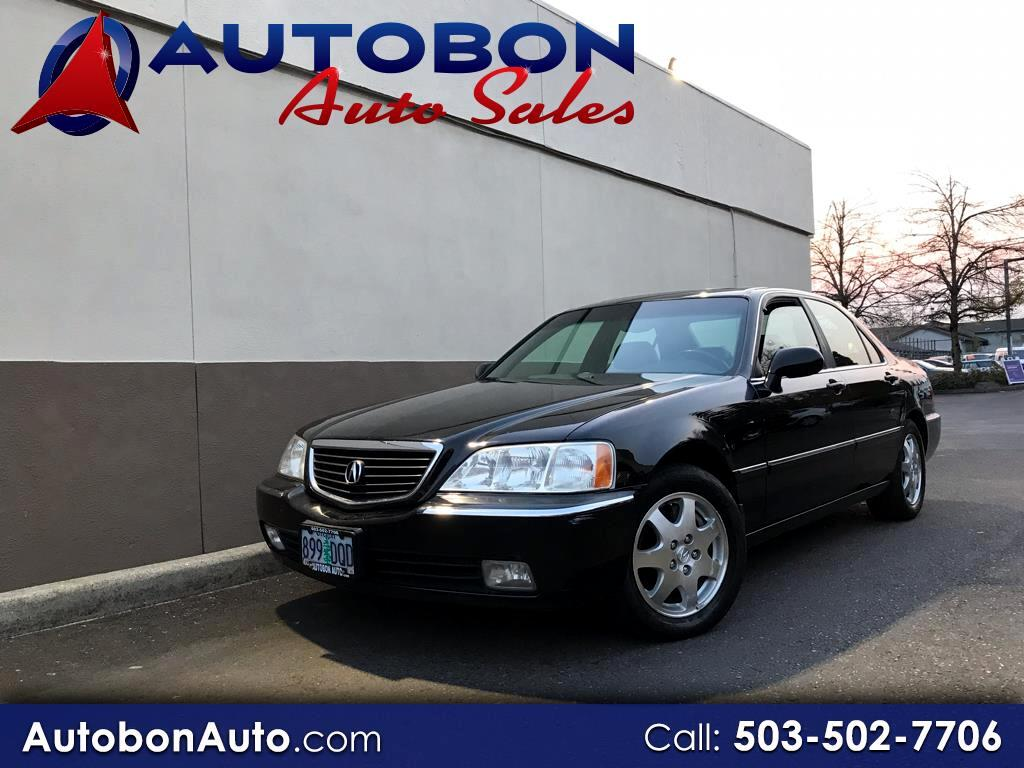 2002 Acura RL 4dr Sdn w/Navigation System