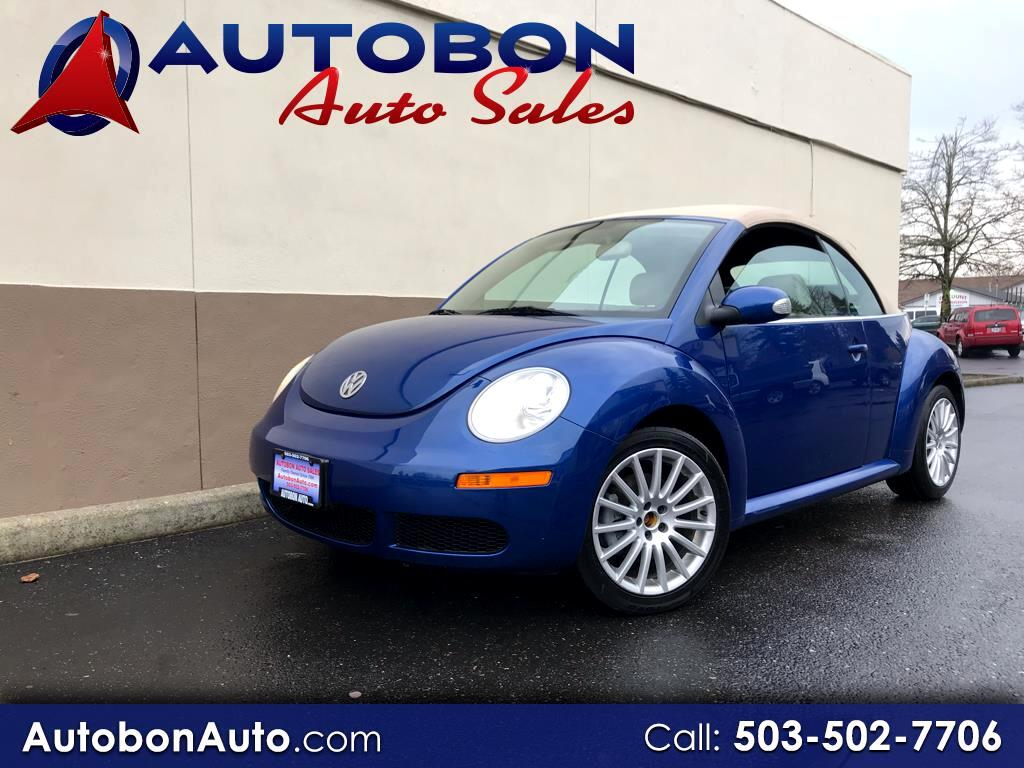2007 Volkswagen New Beetle Convertible 2dr Manual PZEV
