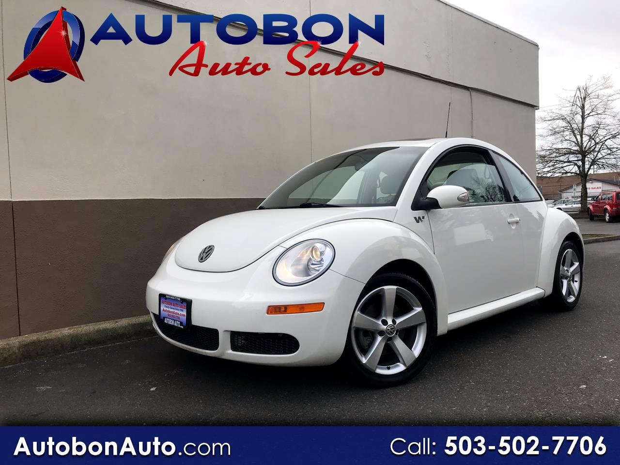 2008 Volkswagen New Beetle Coupe 2dr Auto Triple White