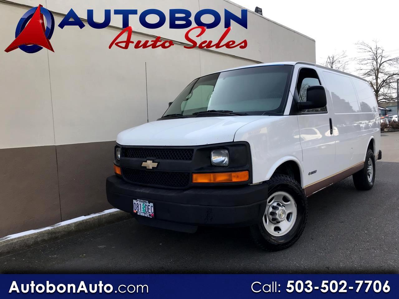 "2006 Chevrolet Express Cargo Van 2500 135"" WB RWD"