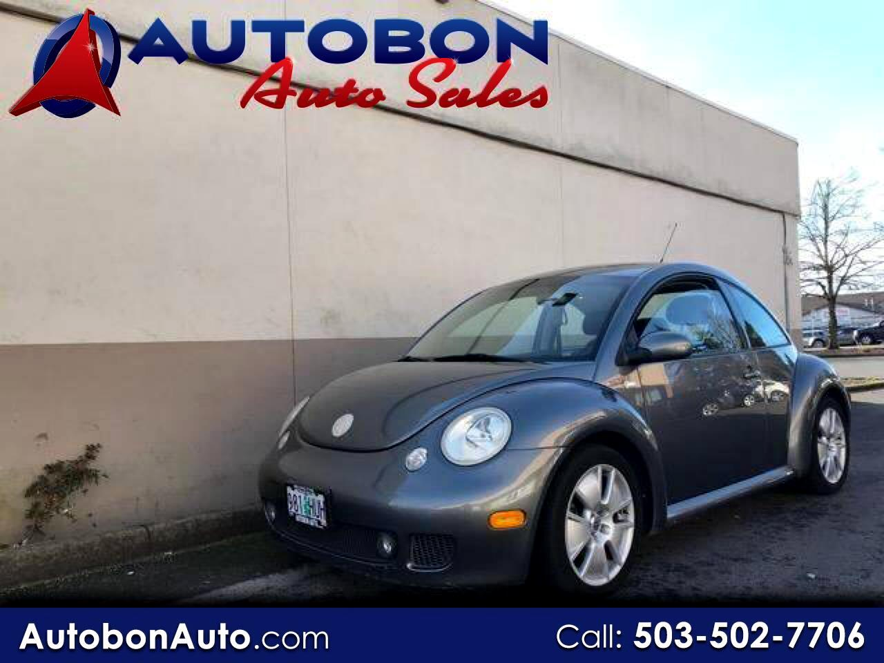2003 Volkswagen New Beetle Coupe 2dr Cpe Turbo S Manual
