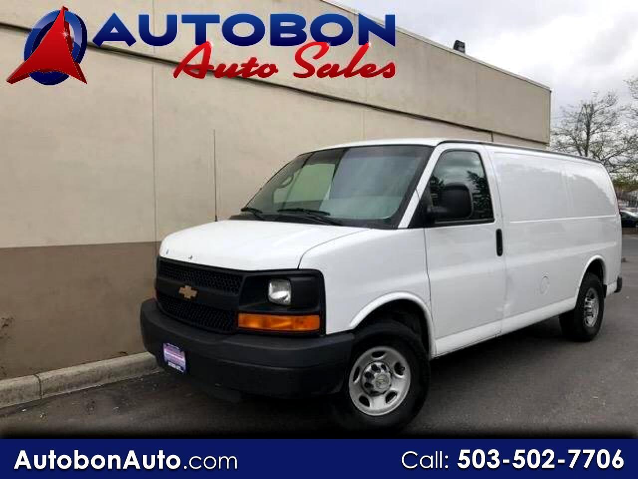 """2008 Chevrolet Express Cargo Van RWD 2500 135"""""""