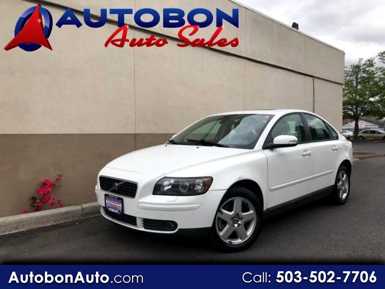 2007 Volvo S40 4dr Sdn 2.5L Turbo AT AWD
