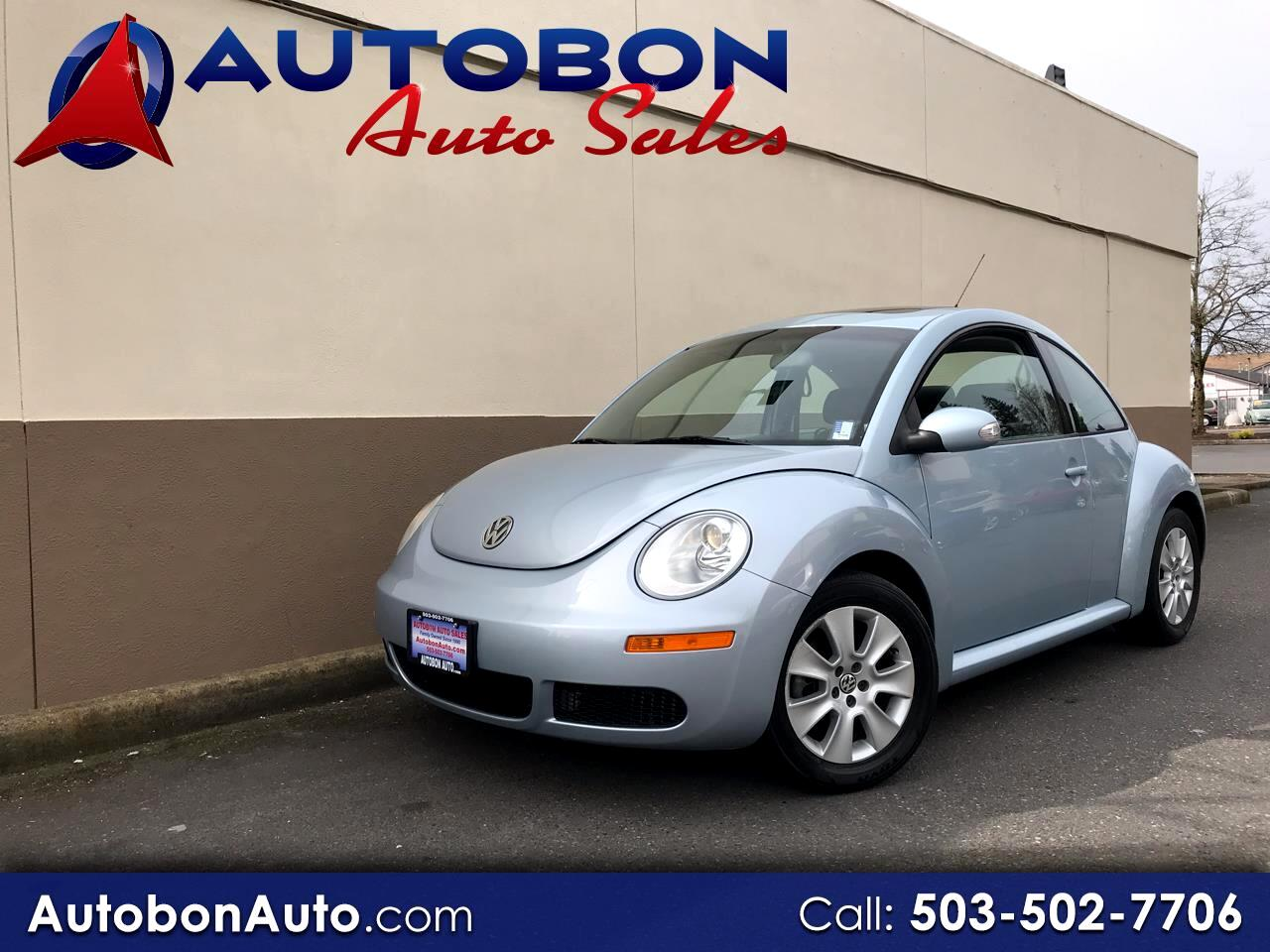 2009 Volkswagen New Beetle Coupe 2dr Auto S