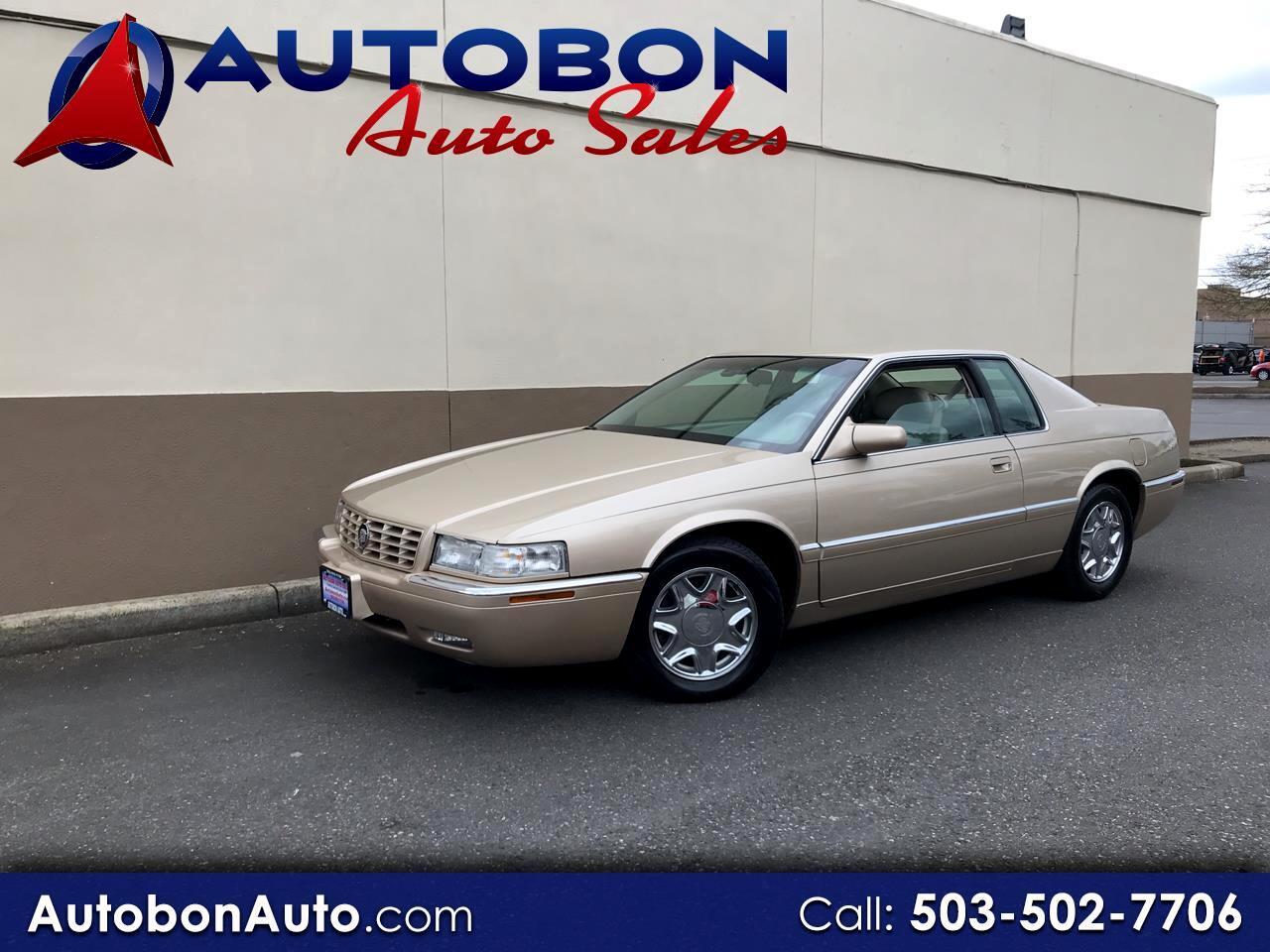 1997 Cadillac Eldorado 2dr Touring Cpe