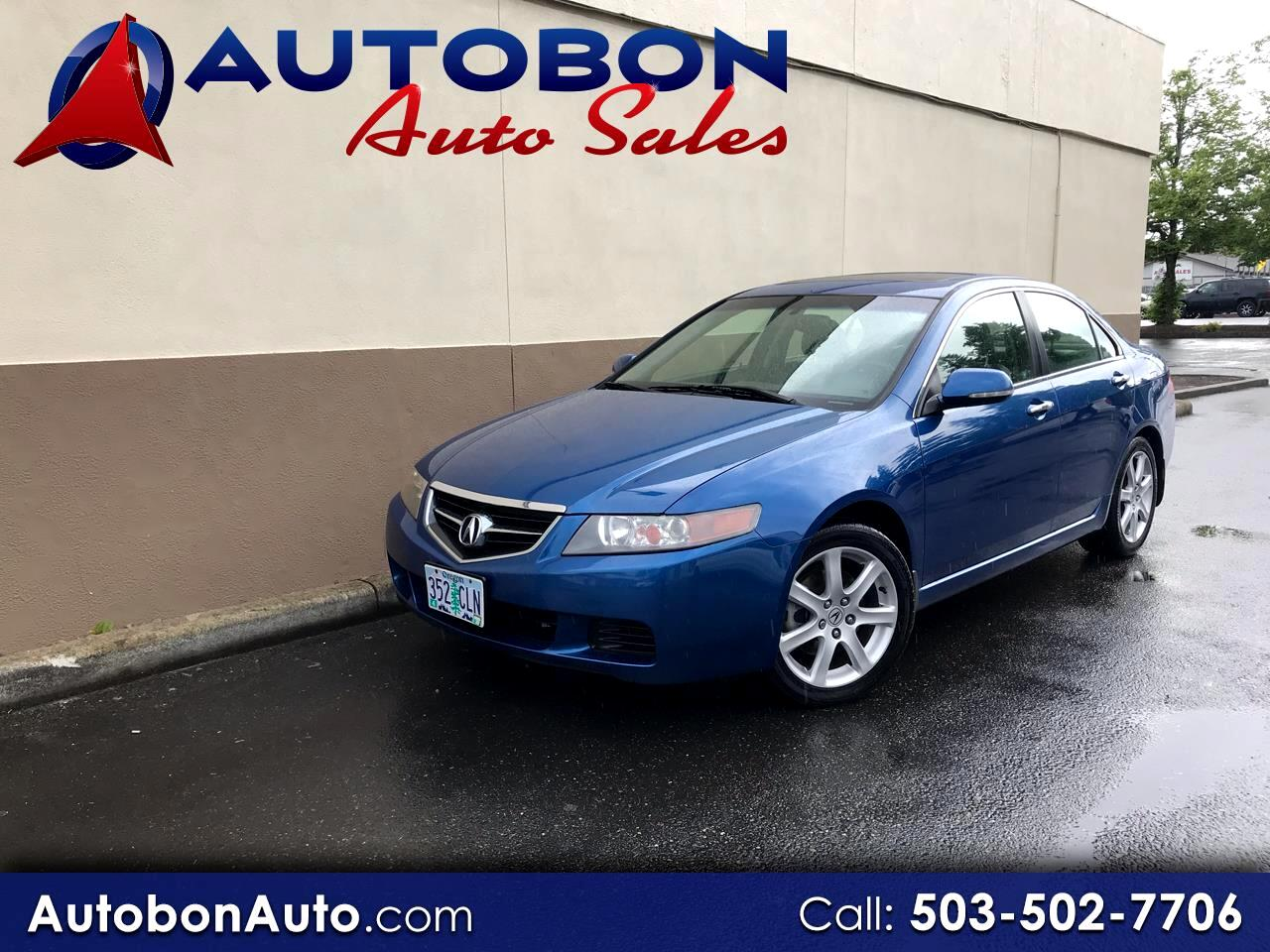 2004 Acura TSX 4dr Sdn AT