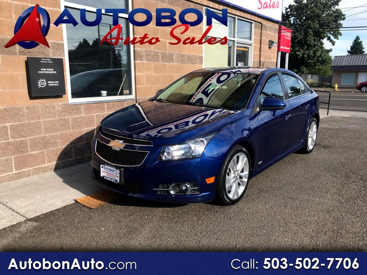 Chevrolet Cruze 4dr Sdn LTZ 2012