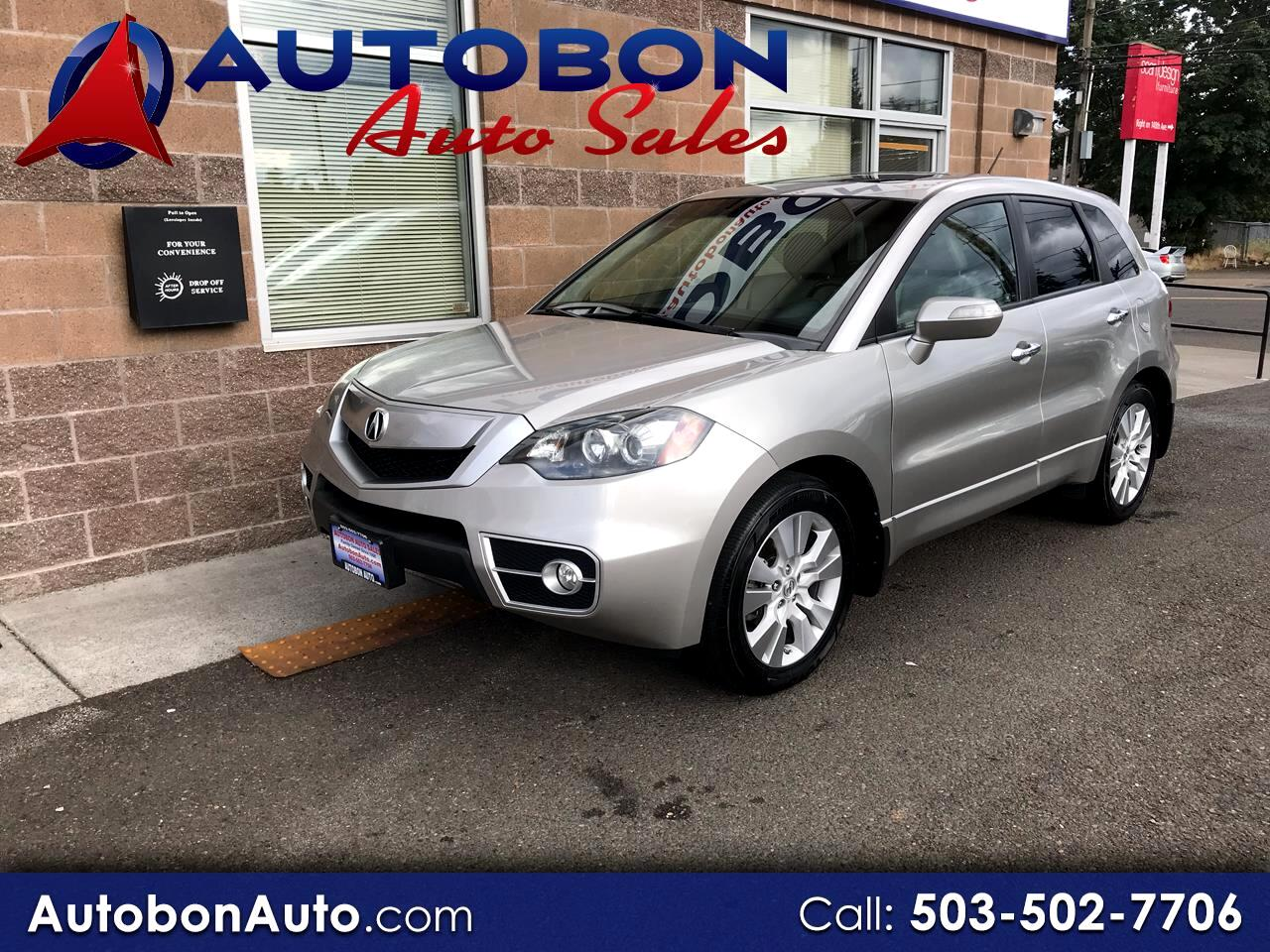 2010 Acura RDX 6-Spd AT AWD w/Advance Package