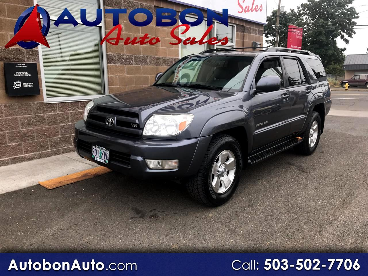 2005 Toyota 4Runner 4dr Limited V8 Auto 4WD (Natl)