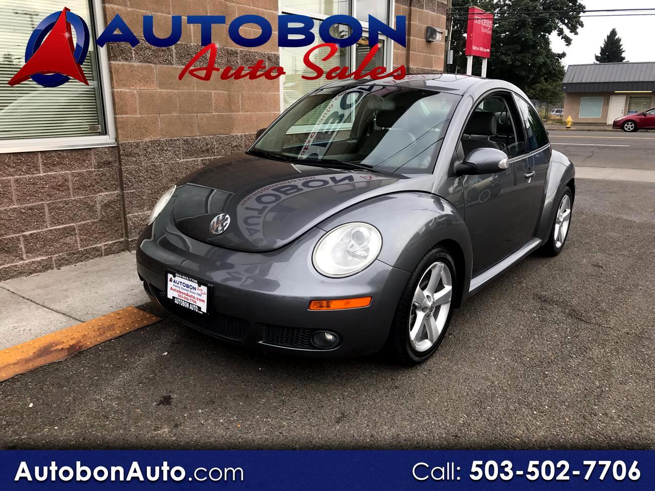 2006 Volkswagen New Beetle Coupe 2dr 2.5L Manual