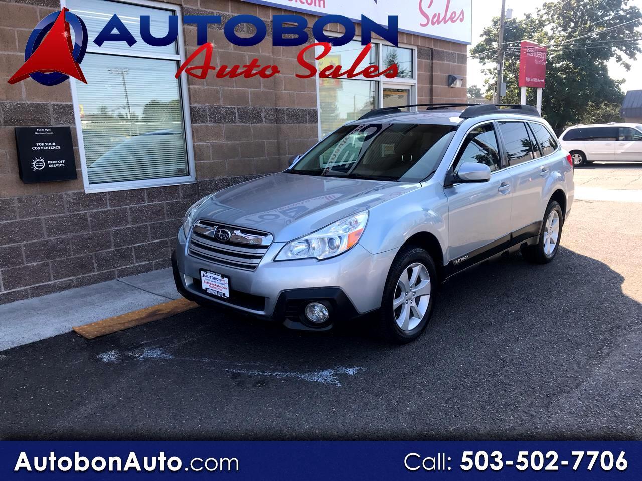 2013 Subaru Outback 4dr Wgn H4 Man 2.5i Premium