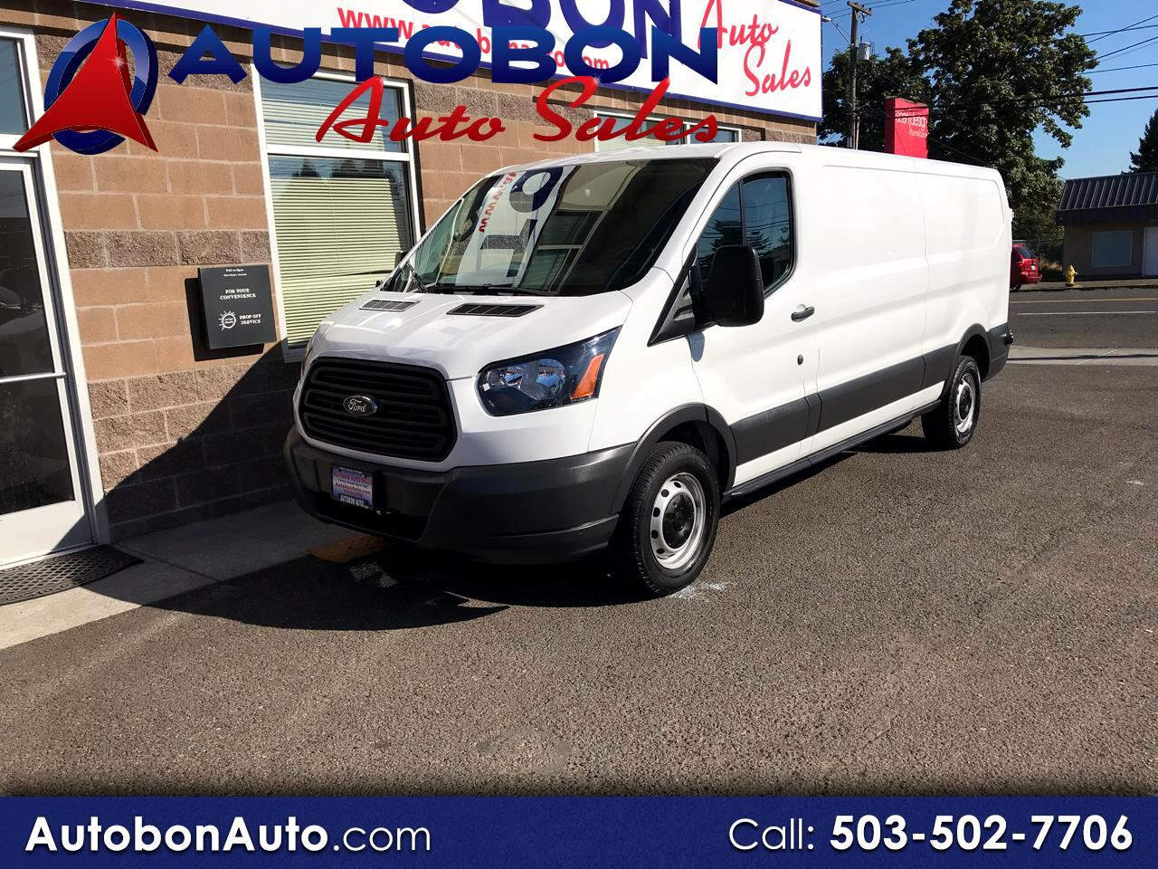 "Ford Transit Van T-150 148"" Low Rf 8600 GVWR Swing-Out RH Dr 2018"