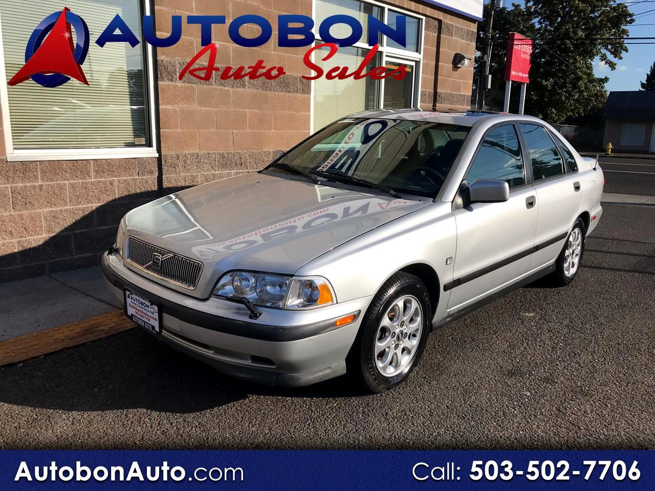 Volvo S40 A 4dr Sdn 2000