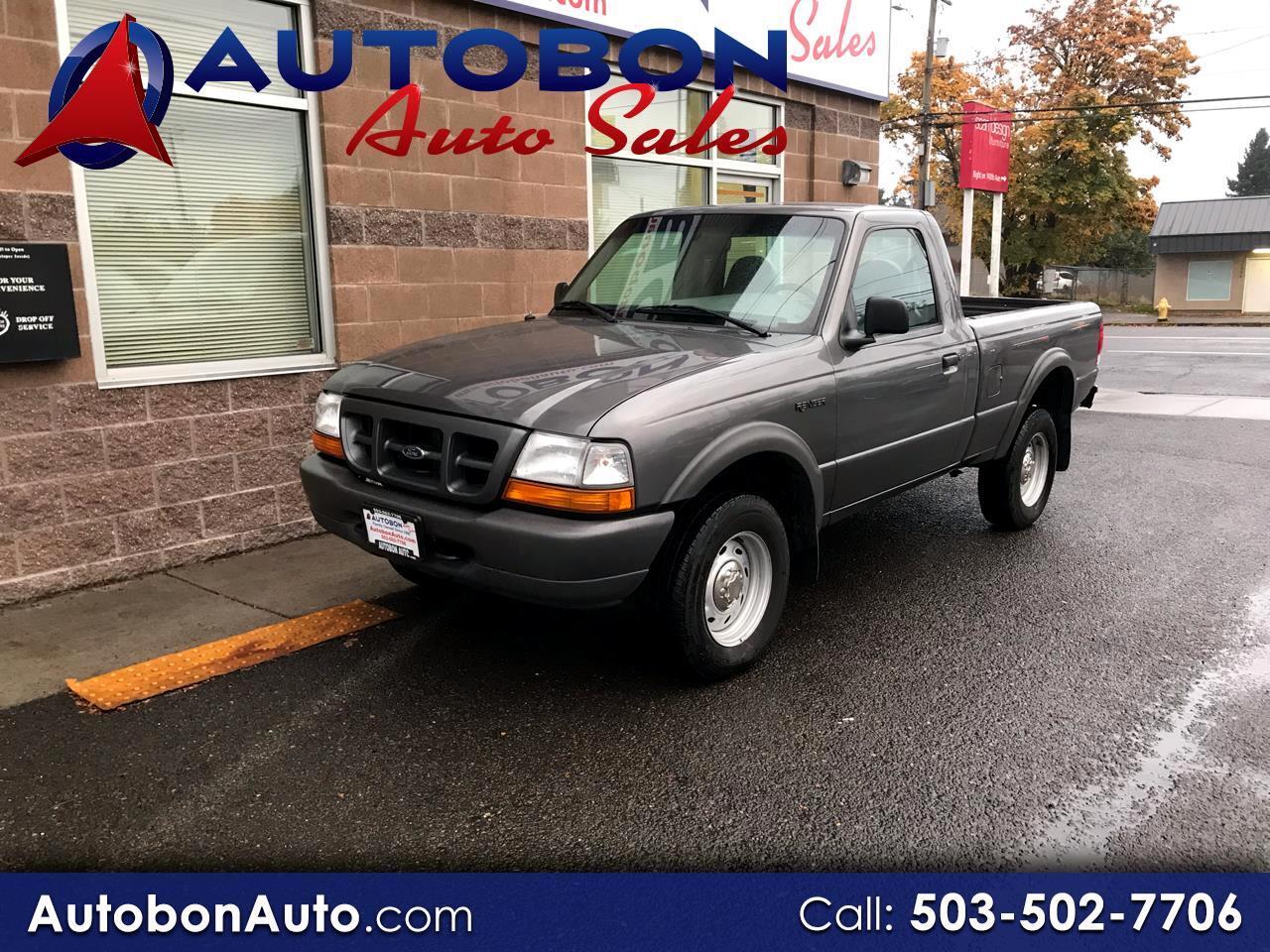 """2000 Ford Ranger Reg Cab 112"""" WB XLT 4WD"""