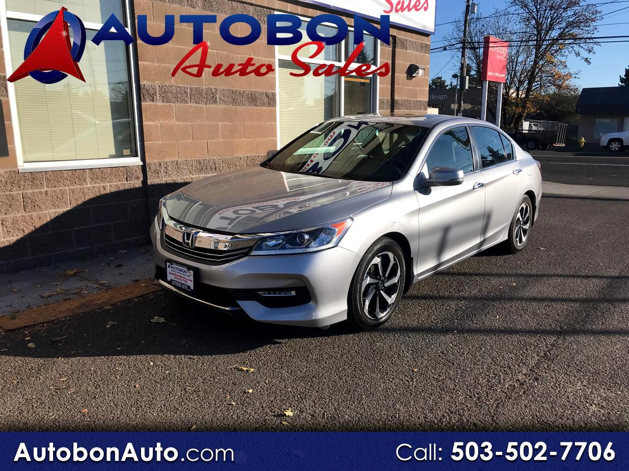 Honda Accord Sedan 4dr I4 CVT EX-L 2016