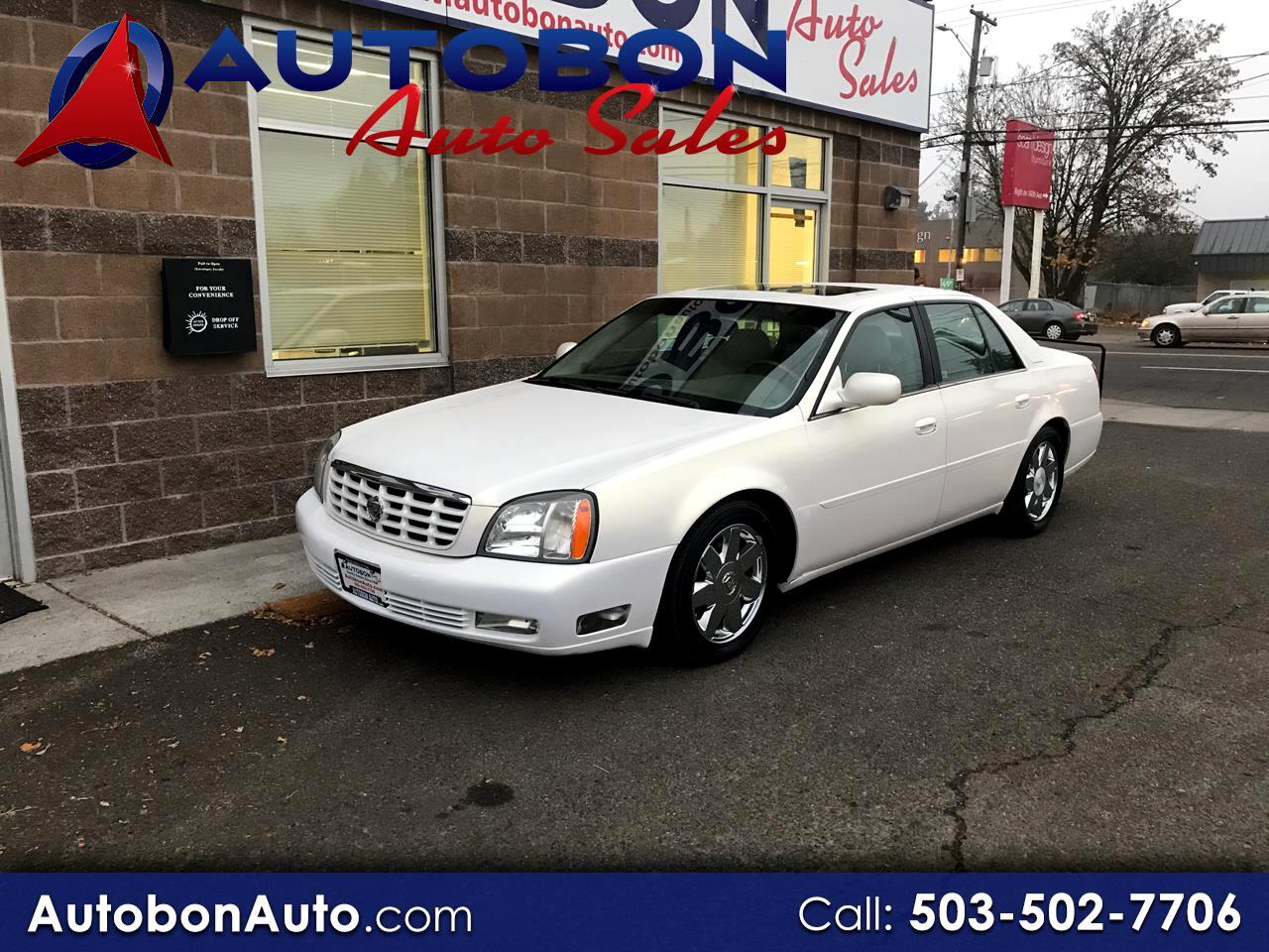 Cadillac DeVille 4dr Sdn DTS 2004