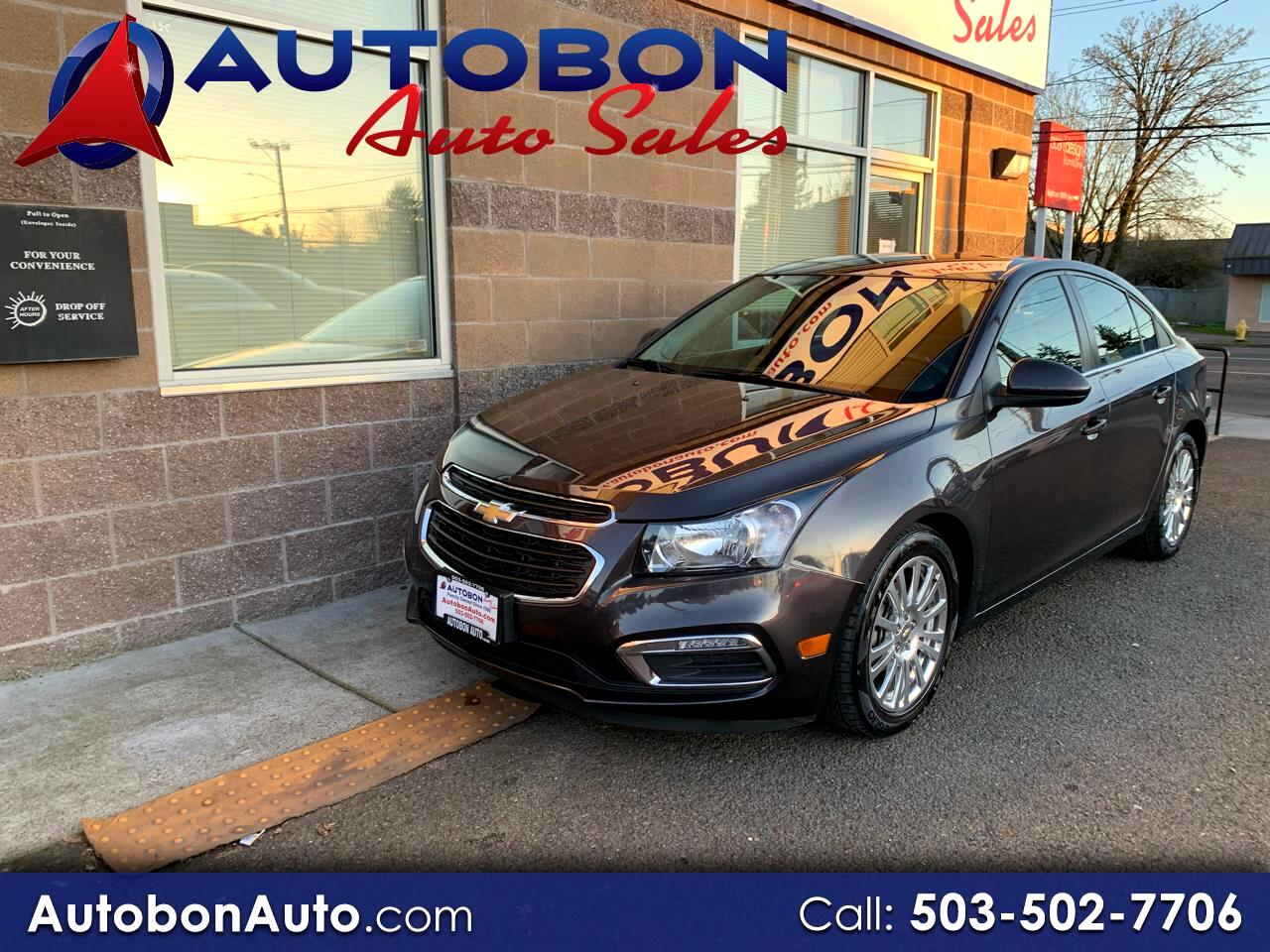 Chevrolet Cruze Limited 4dr Sdn Man ECO 2016