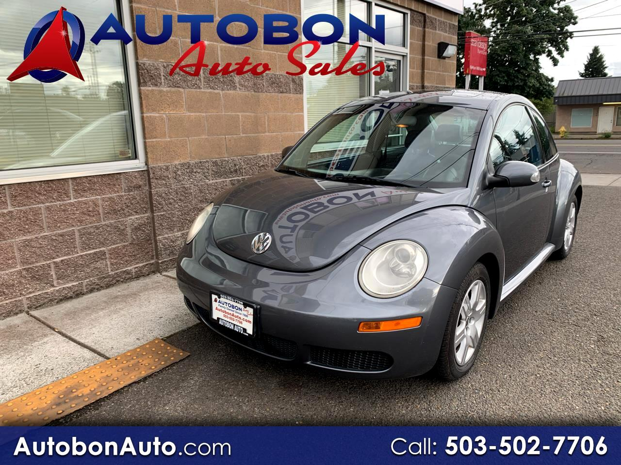 Volkswagen New Beetle Coupe 2dr Manual 2007