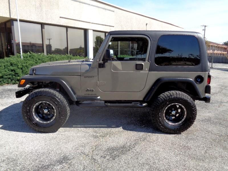 2003 Jeep Wrangler X