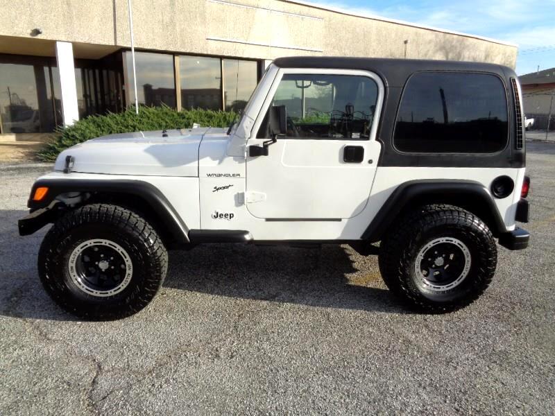 Used 2002 Jeep Wrangler Sport For Sale In Arlington Tx 76011
