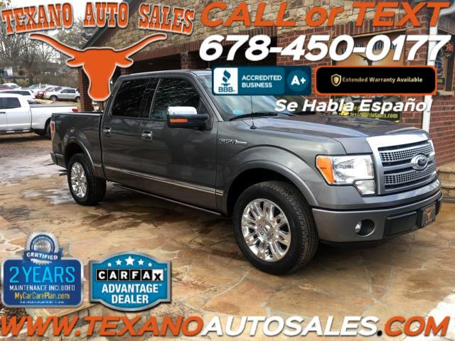 2012 Ford F-150 Platinum SuperCrew 5.5-ft. Bed 2WD