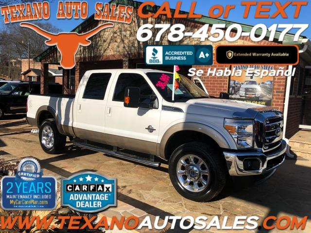 2013 Ford F-250 SD Lariat SuperCab Long Bed 4WD