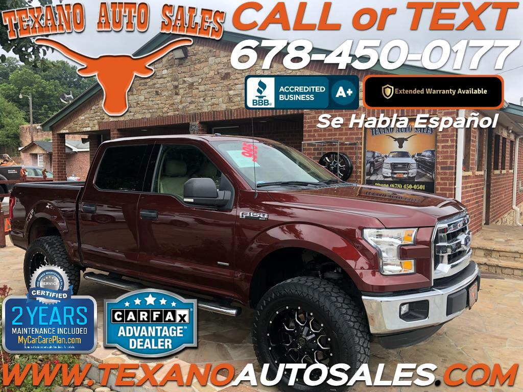 "2015 Ford F-150 2WD Supercab 133"" XLT"