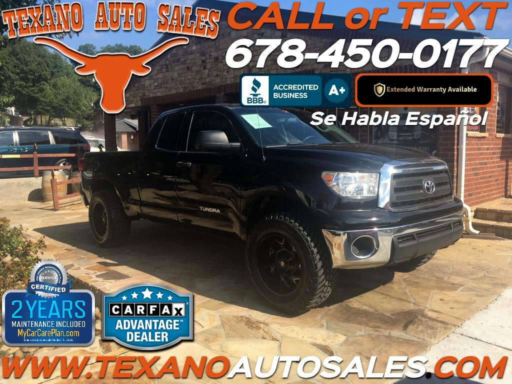 2013 Toyota Tundra 2WD Truck Double Cab 4.0L V6 5-Spd AT (Natl)
