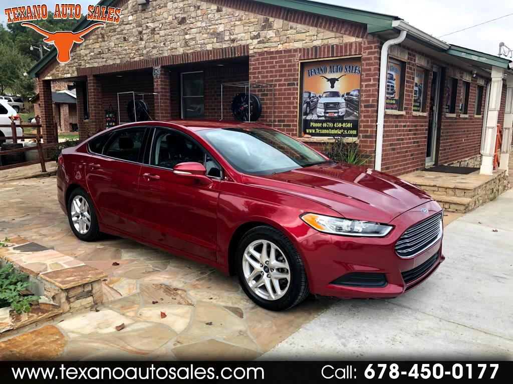 2013 Ford Fusion 4dr Sdn I4 S