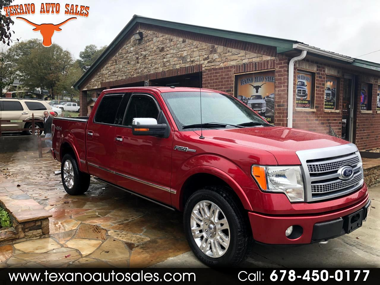 "2010 Ford F-150 4WD SuperCrew 157"" Platinum"