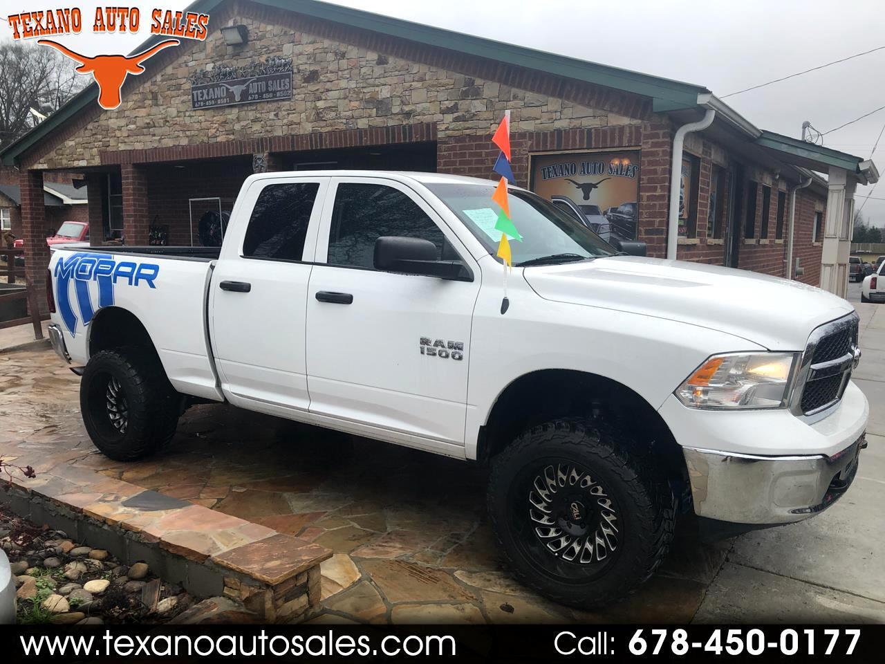 "2014 RAM 1500 4WD Quad Cab 140.5"" Tradesman"