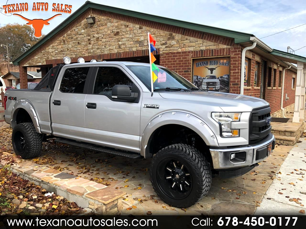 "2015 Ford F-150 4WD SuperCrew 157"" XL"