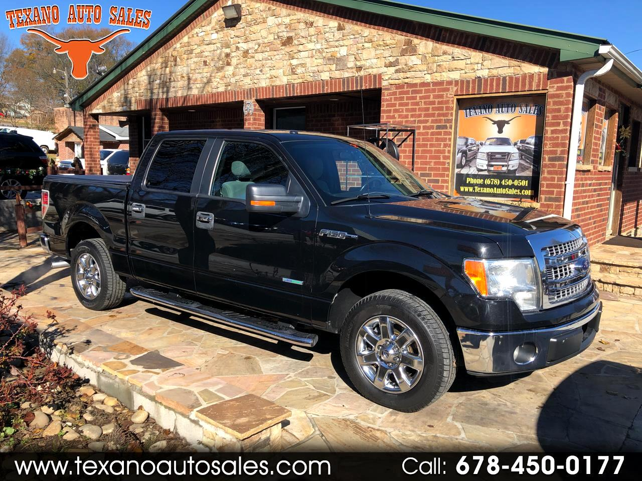 "2013 Ford F-150 SuperCrew Crew Cab 139"" XLT"