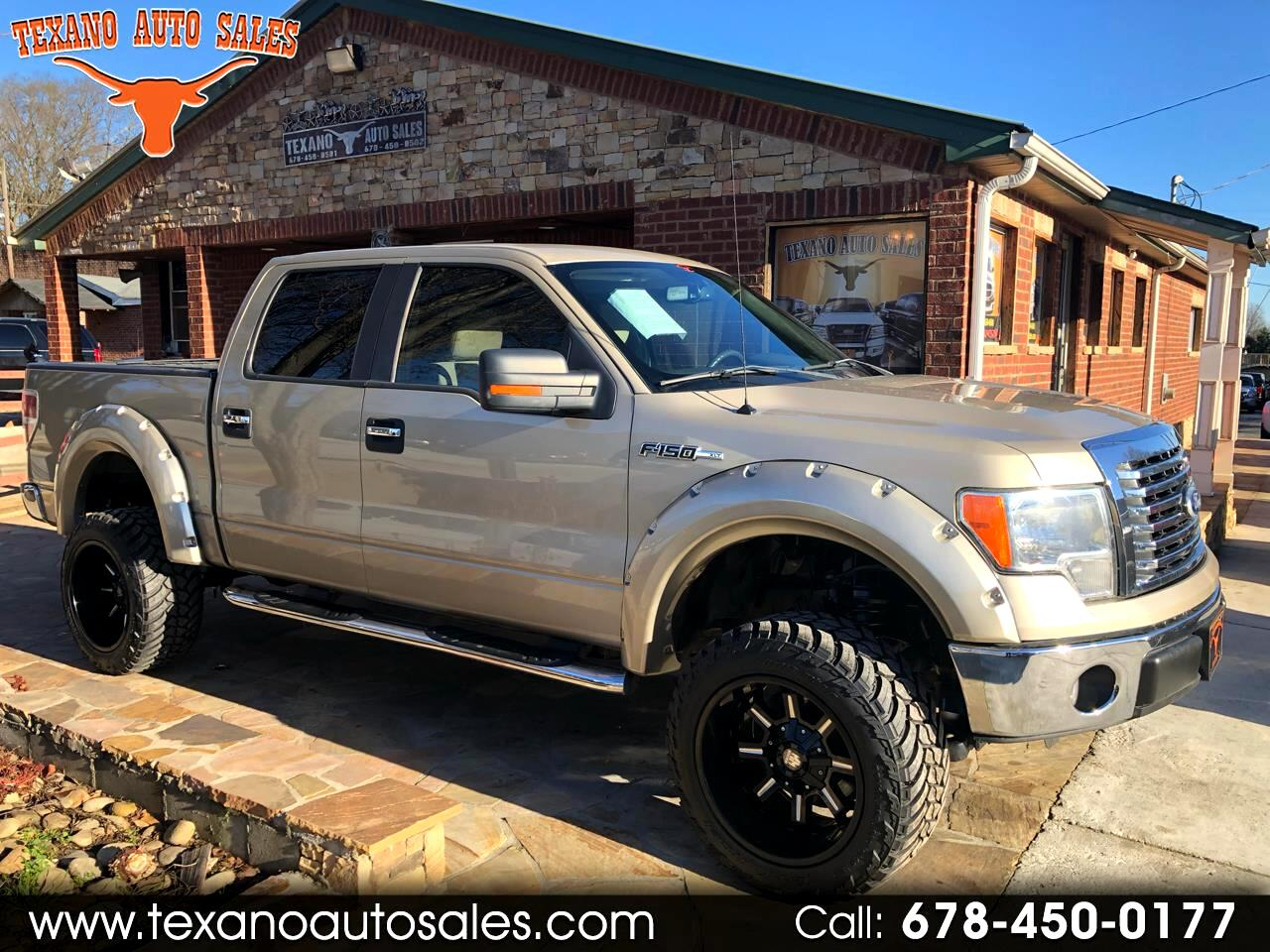 "2010 Ford F-150 2WD SuperCrew 145"" FX2 Sport"