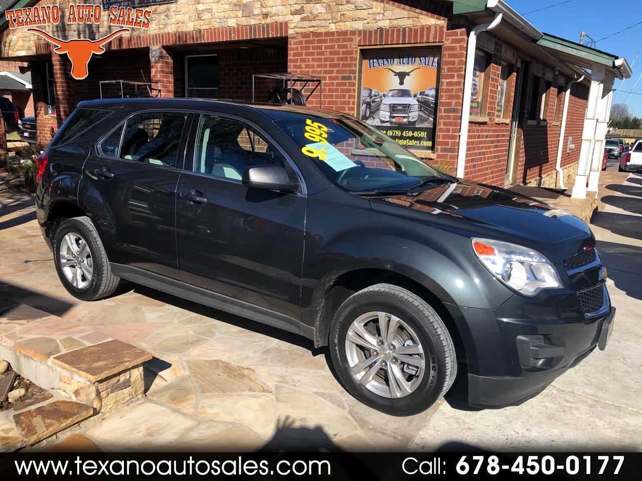 2012 Chevrolet Equinox FWD 4dr LS
