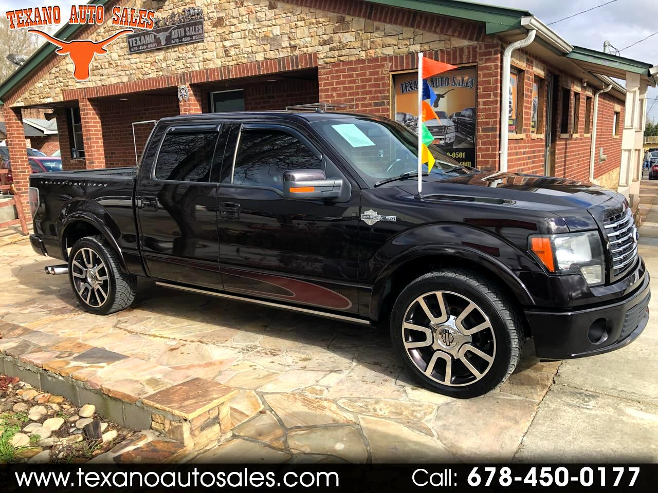 "2010 Ford F-150 2WD SuperCrew 145"" Harley-Davidson"