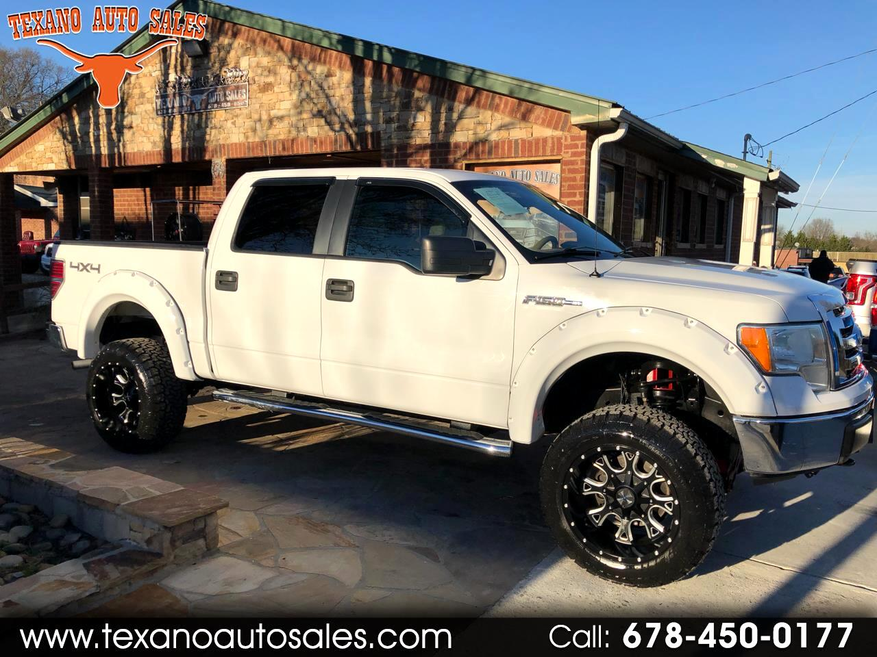 "2010 Ford F-150 4WD SuperCrew 145"" XLT"