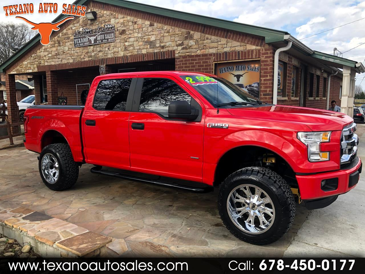 2015 Ford F-150 2WD SuperCrew 157