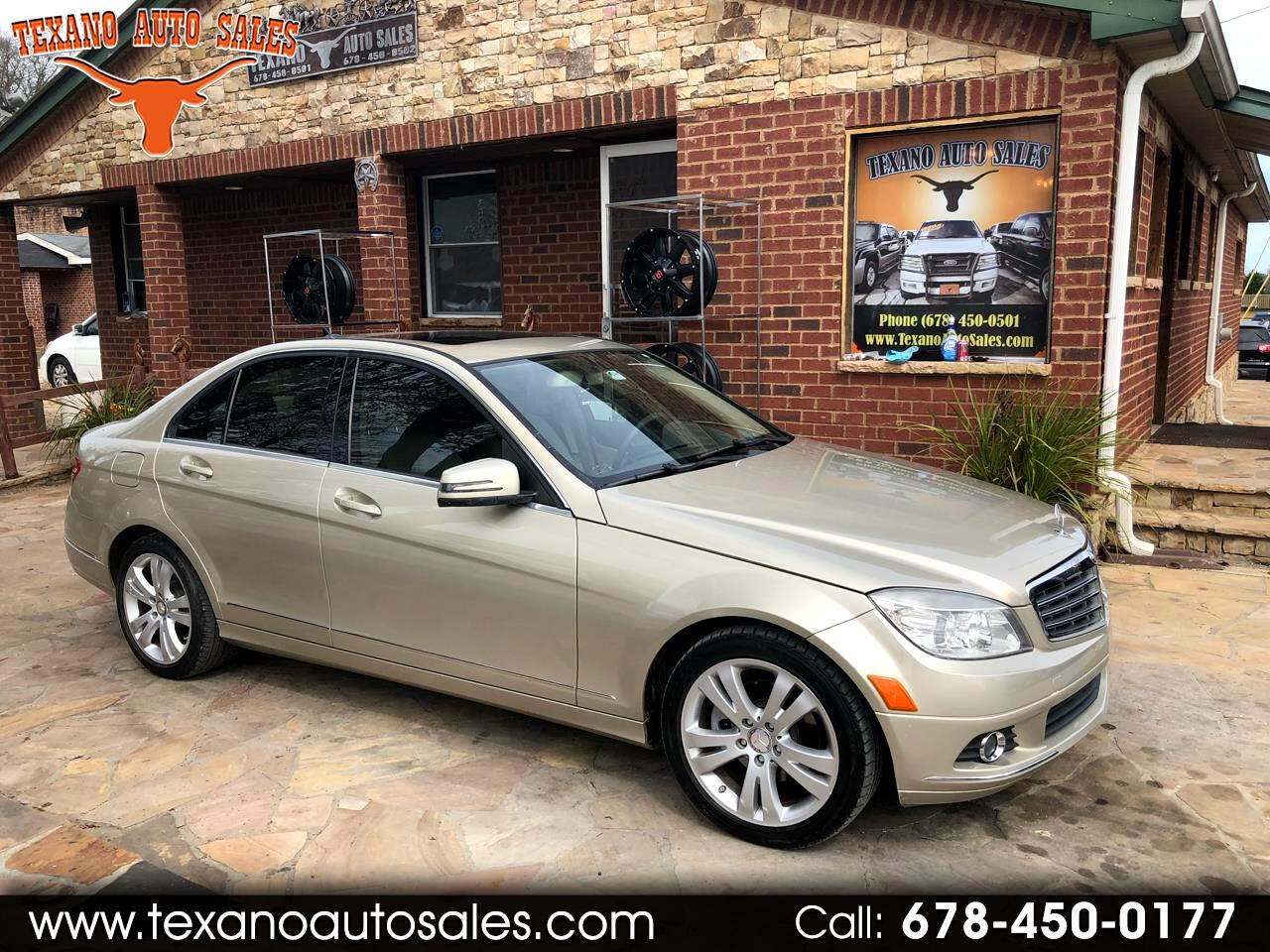 2010 Mercedes-Benz C-Class 4dr Sdn 3.0L Luxury 4MATIC