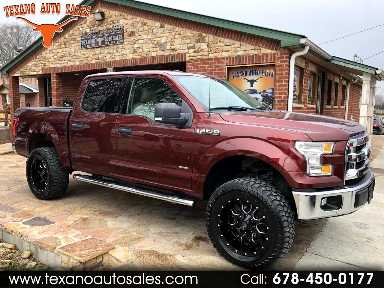 "2015 Ford F-150 2WD SuperCrew 157"" XLT"