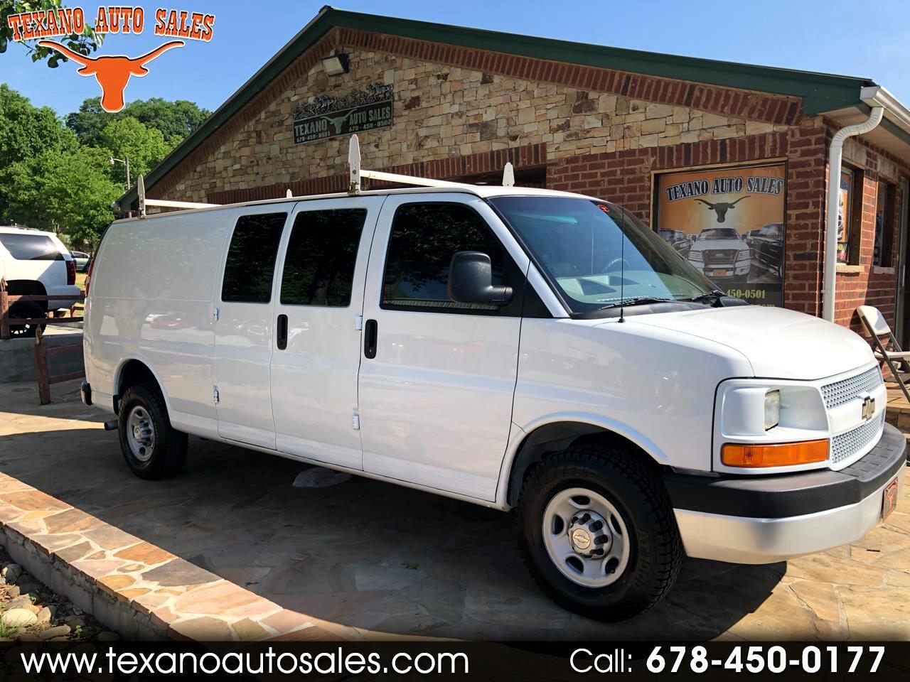 "2009 Chevrolet Express Cargo Van 2500 155"" WB RWD"