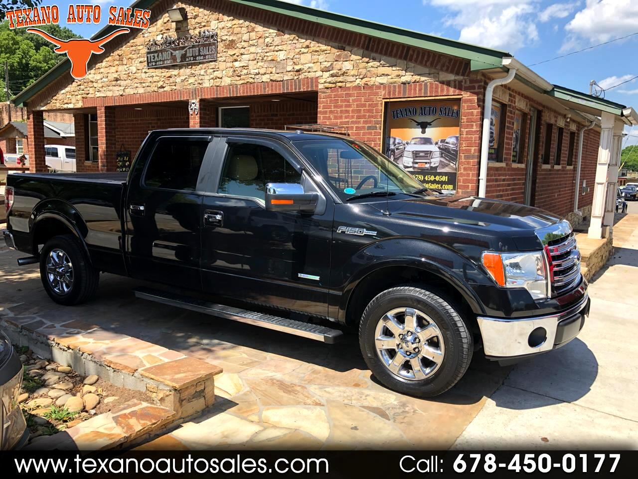 "Ford F-150 2WD SuperCrew 145"" Lariat 2013"