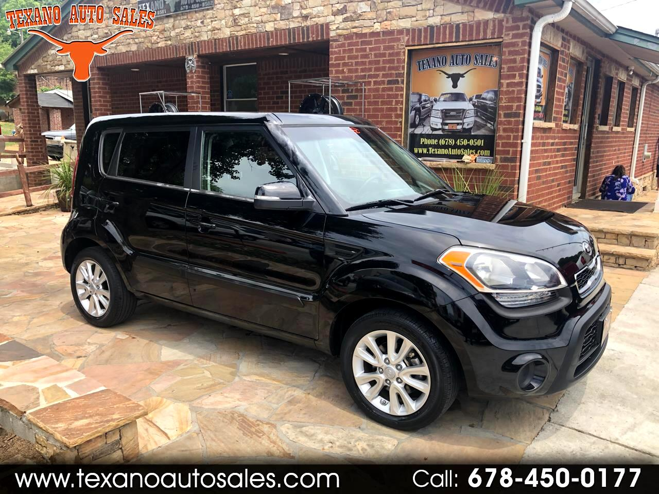 2013 Kia Soul Base Manual