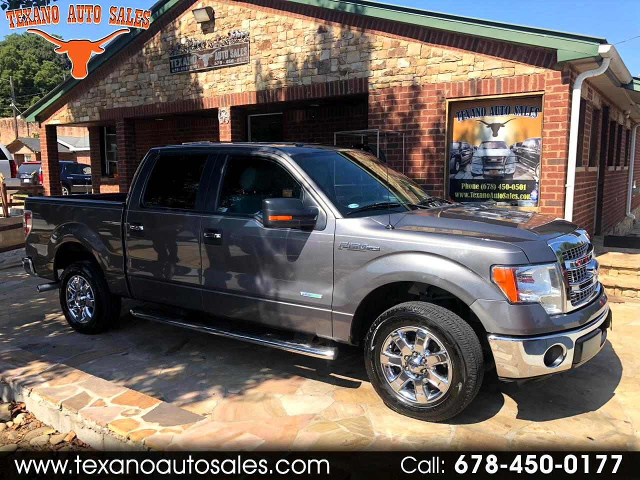 """Ford F-150 2WD SuperCrew 145"""" King Ranch 2013"""