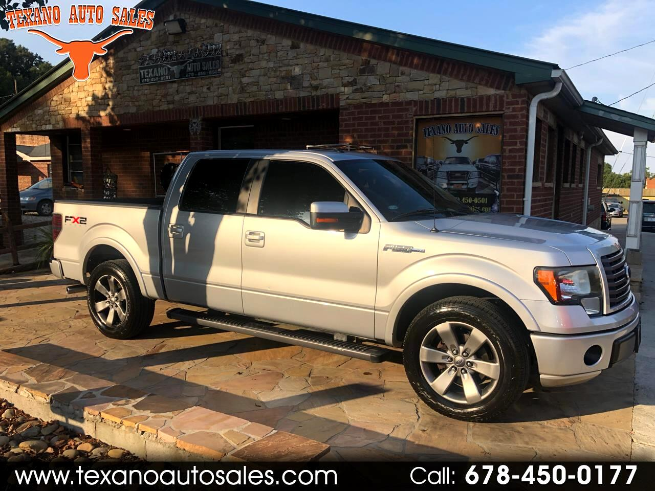 "2011 Ford F-150 2WD SuperCrew 150"" FX2"